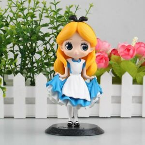 Q Posket Disney Characters Cute Girl Princess Pvc Figure Toy Gift