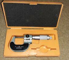 Vintage Mitutoyo 1 Digital Micrometer 193 211 With Case