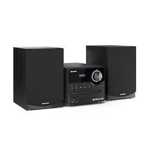 Sharp XL-B517D(BK) Micro Sound System with DAB+ Digital, Bluetooth & CD Playback