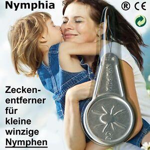 Zeckenzange-Nymphia-einzig-fuer-kleine-winzige-Zecken-NYMPHEN-am-Menschen