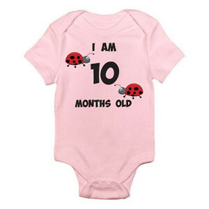 I AM 10 MONTHS OLD - Age / Ten / Birth / Ladybird / Bug ...