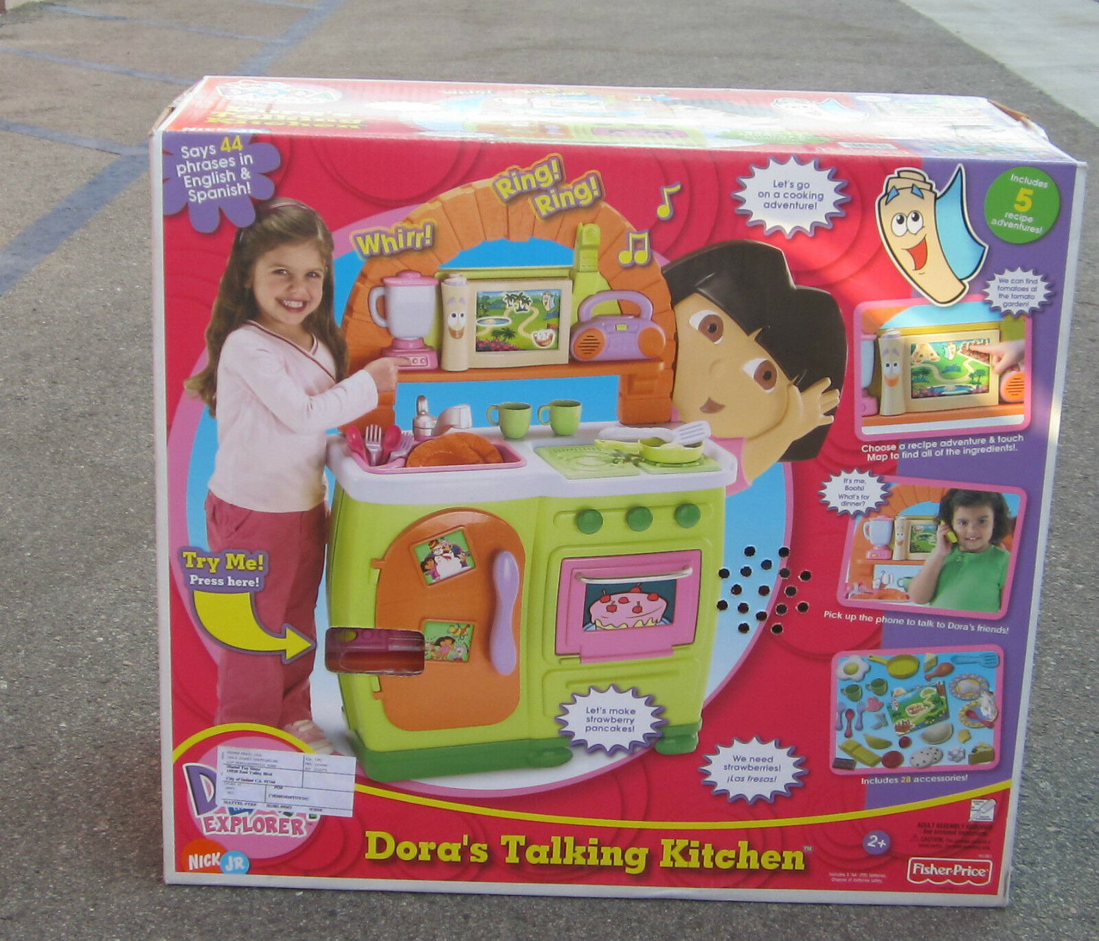 Fisher Price Dora The Explorer Original Talking Kitchen