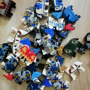 LEGO-Castle-kingdoms-Horses-x5-per-order-Bulk-Packs-with-Barding-armour