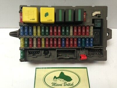 land rover interior fuse box discovery 2 ii 03-04 yqe000251 used ... land rover fuse box connector part numbers  ebay