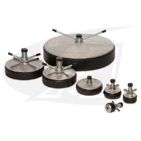 Cast Aluminum Expansion Purge Plug for TIG Welding - 10  Diameter