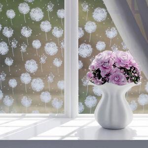 image is loading waterproof privacy window glass film sticker dandelion for - Christmas Decorative Window Film