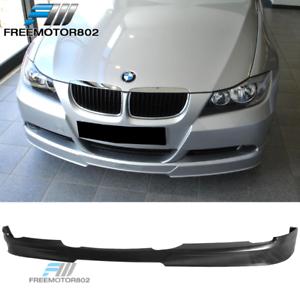 Fits 05-08 BMW E90 3-Series Sedan C-Style PU Front Bumper Lip Spoiler 320i 323i