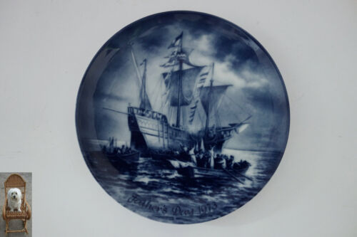 Ø 19,5 cm Wandteller Berlin Design Landing of Columbus in Amerika 1492 Vatertag