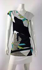 Parakian abito vestito dress kleid I42 F38 cerimonia verde elegante платье T473