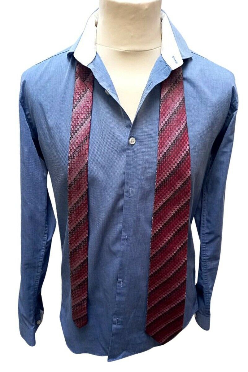 Butler and webb patterned tie