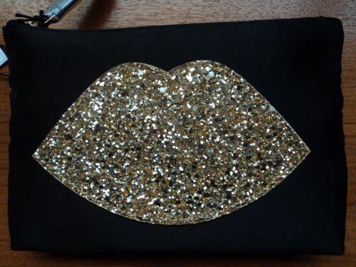 con GlitterCon scatola labbra Lulu per cerniera Gold Guinness Custodia OPXwn80k