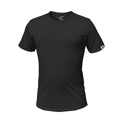 GAS JEANS Set di 3 T-Shirt Manica Corta in Cotone Stretch Slim BLU NERO GRIGIO