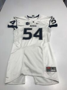Game Worn Used Nevada Wolfpack Football Jersey Nike Size M 54 Ebay
