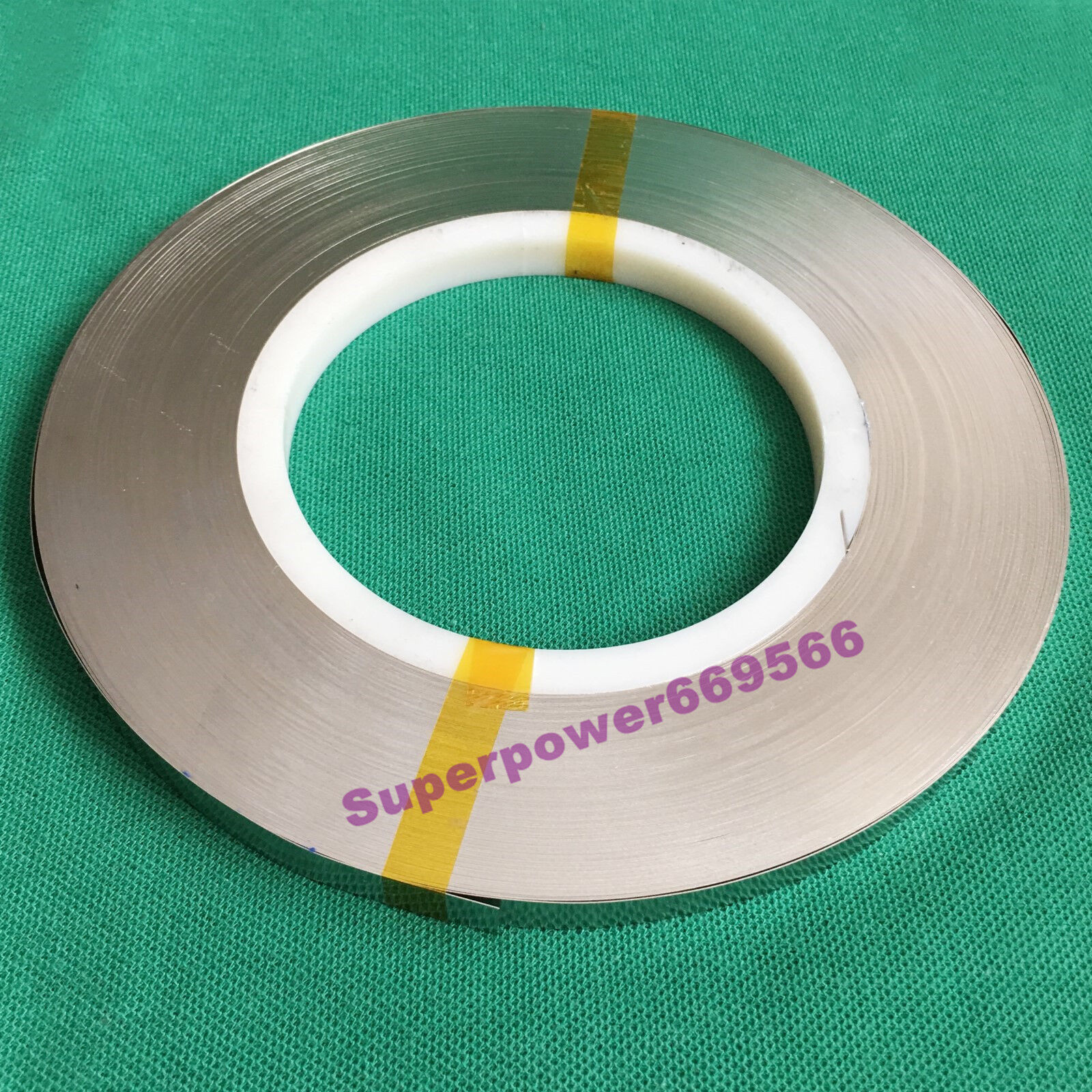0.96KG (approx 298FT) 8mm X 0.15mm T Pure Nickel strip for battery welding