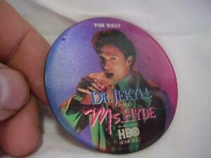 Dr. Jekyll and Ms. Hyde Movie Button Sean Young Tim Daly ...