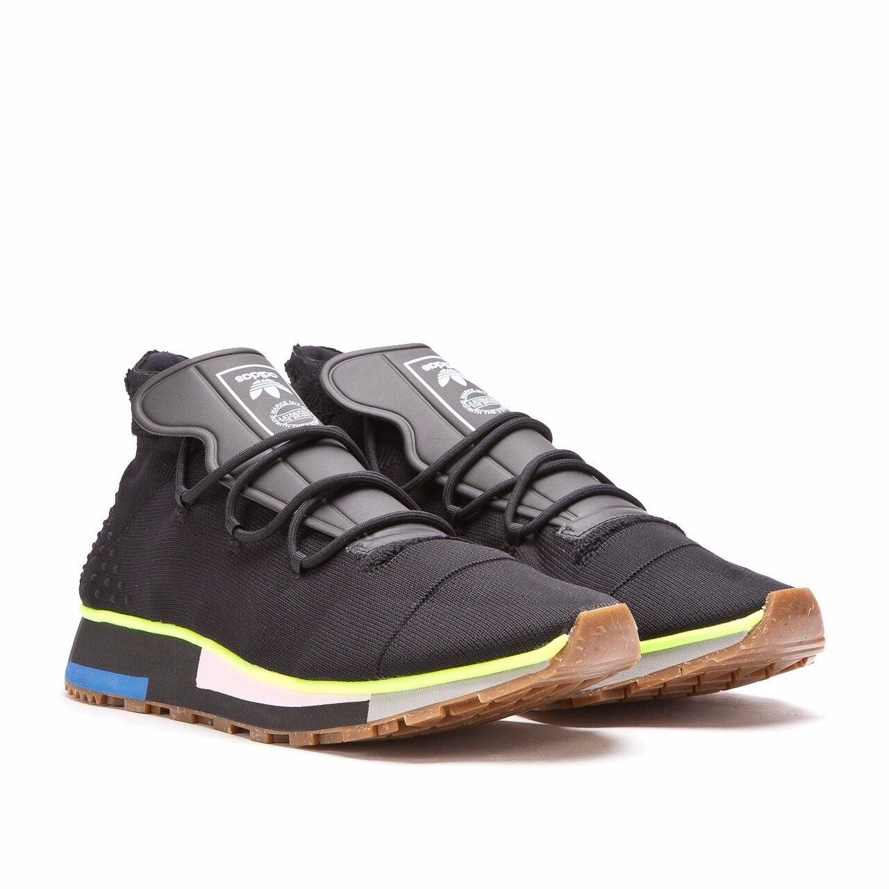 Streng limitiert  adidas by Alexander Wang Turnschuhe AW Run Mid Schwarz EU 44    | Billiger als der Preis