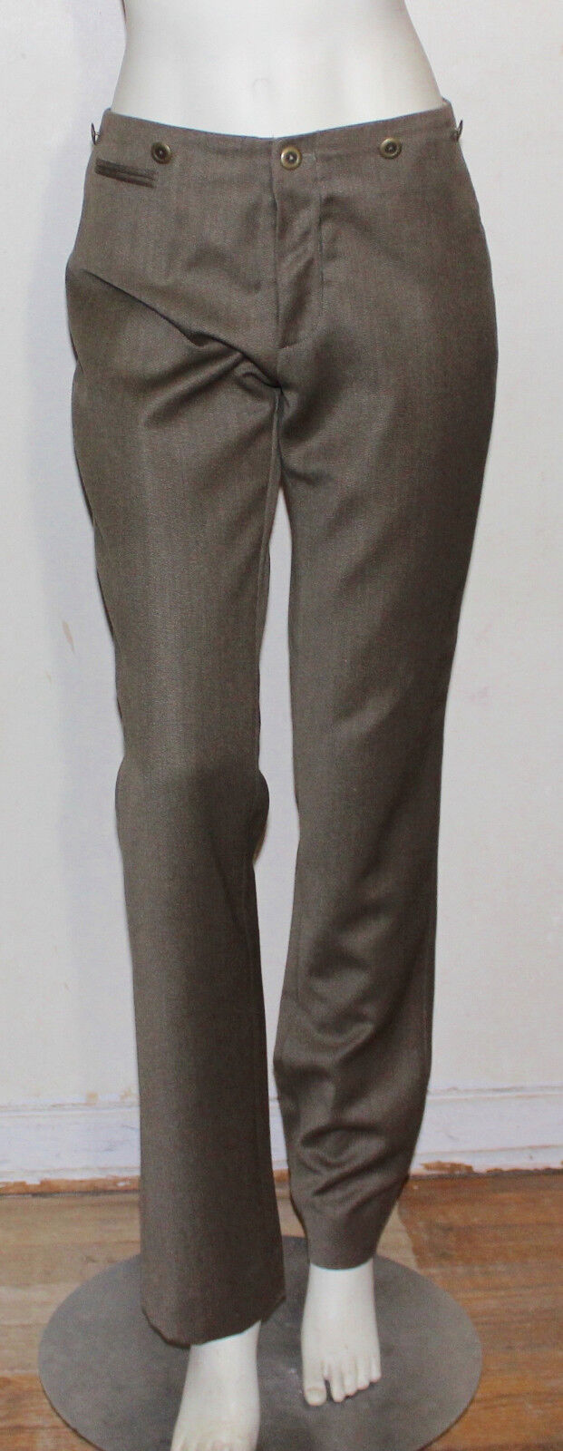 Ralph Lauren Collection wool pants with suspender buttons  6