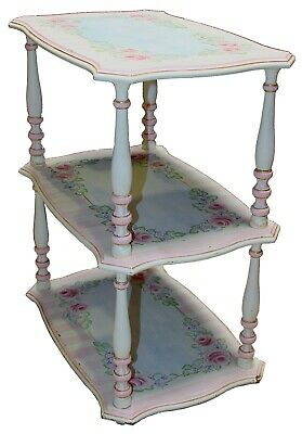 Superieur Vintage French Provincial Style Three Tier Side Table   EBay