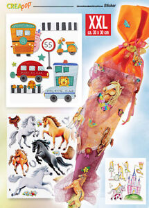 3D-Sticker-Wandtattoos-Wandsticker-Kinderzimmer-Aufkleber-XXL-Sets-grosse-AUSWAHL