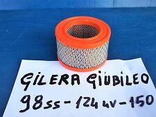 FILTRO ARIA PER CARBURATORE DELLORTO  GILERA GIUBILEO 98 SS/ 124 4V  MAI USATO