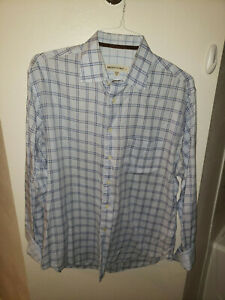 JUST REDUCED!  Pronto-Uomo Button Down Shirt with Pocket - Large