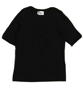 Karl Lagerfeld Black Studded Head Tshirt