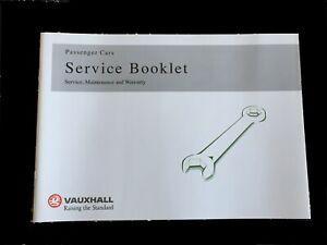 Brand New Vauxhall Service Livre Inutilisé Véritable Couvre Tous Les Modèles Gratuit Rapide P&p-afficher Le Titre D'origine