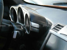PH~ Dial Dash Cover interior Protector Trim For Nissan 350Z Z33 Carbon Fiber