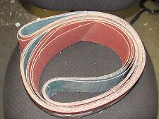 4 Pcs Ea Klingspor 4 X 132 Cs326 P180 Grit 180 Abrasive Sanding Belts Germany