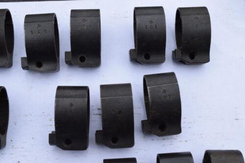 Swedish Mauser M96 M38 Stock Front Band baïonnette Clou Suédois fusil 6.5x55 pièces CG