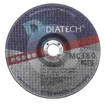 """METAL CUTTING 9/""""  for ANGLE GRINDER 10 x pack GRINDING DISC  230mm"""