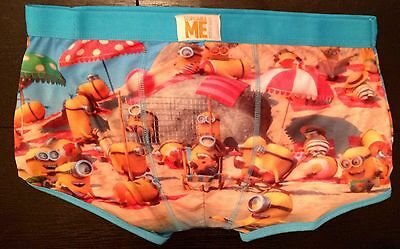Despicable Me The Minions Beach Scene Licensed Primark Mens Boxer Pants Trunks
