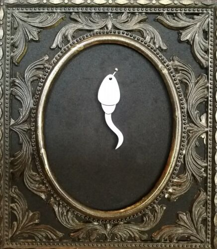 3x sperm laser cut acrylic charms//pendants// cabochons// jewellery making