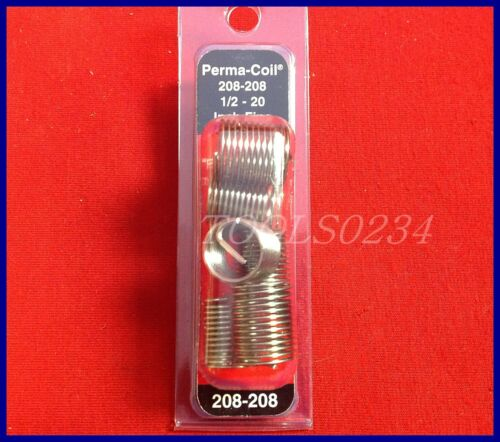 Perma Coil 208-208 SAE Fine Inserts 1//2-20 Package of 6 USA MADE Free Shipping