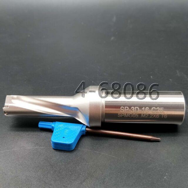 SP-19-C25-2D U drill indexable drill 19mm C25-2D+10PCS SPMG060204 U drill insert