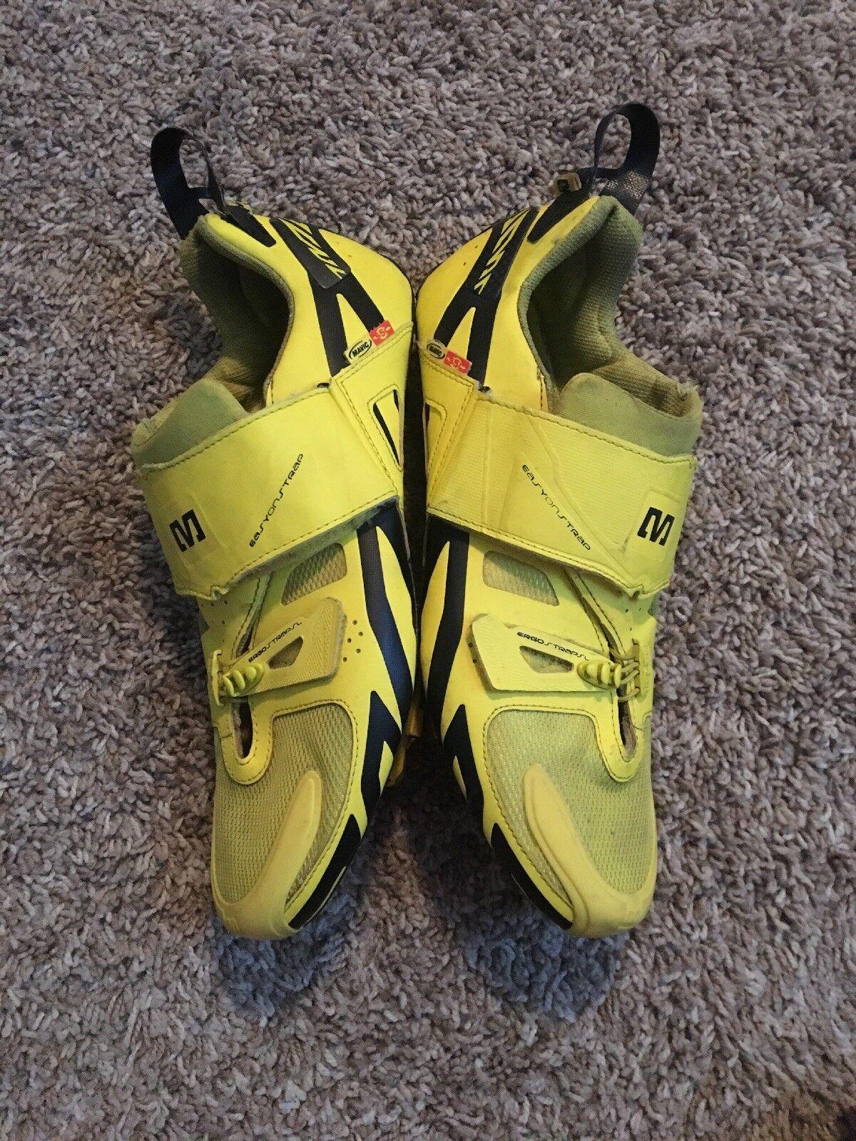 Mavic Cosmic Ultimate Triathlon shoes Mens 9 US