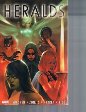 Heralds by Tonci Zonjic and Kathyrn Immonen (2011, TPB) Cosmic Marvel Comics