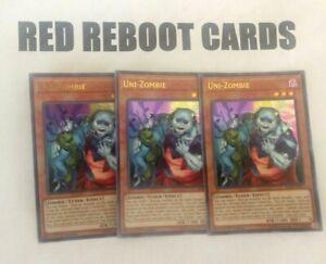 3x-Uni-Zombie-Ultra-Rare-BLRR-Yugioh-Mint