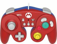 Hori Battle Game Fight Pad W/ Turbo For Super Smash Bros. Nintendo Wii U - Mario