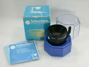Schneider-Kreuznach-50mm-F2-8-Componon-S-Enlarging-Lens-Keeper-amp-Box-14280671