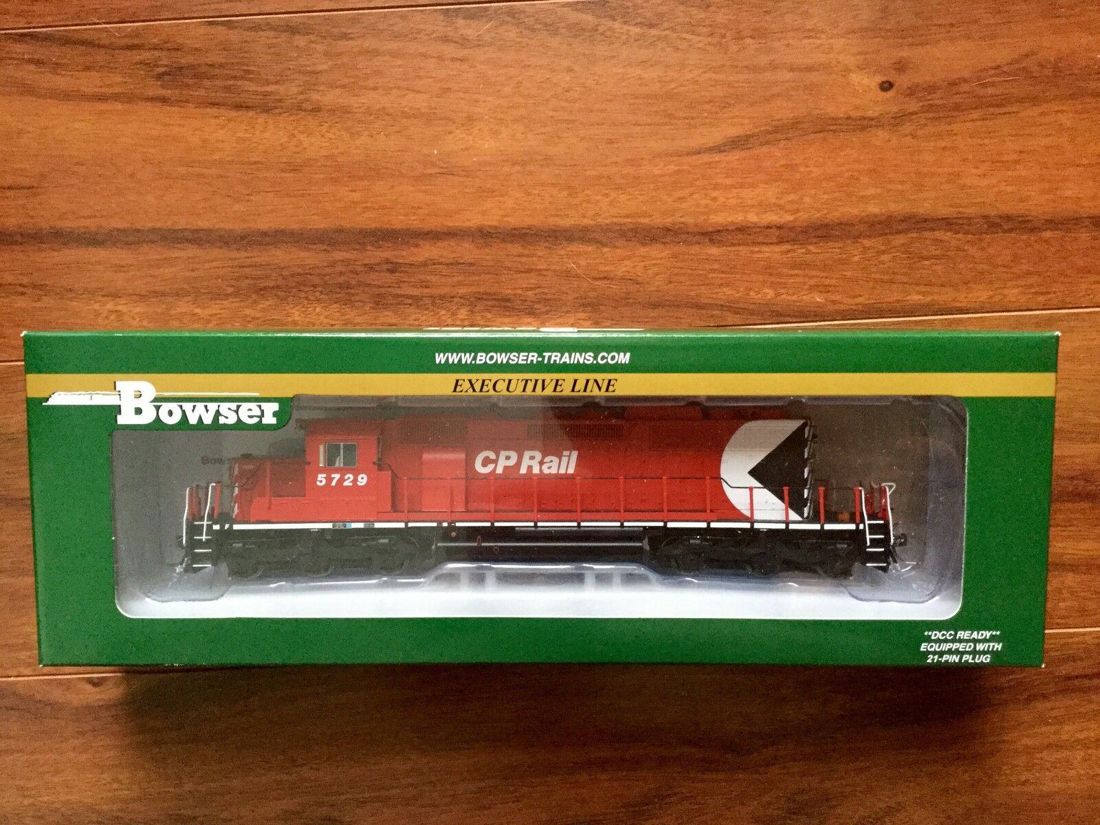 BOWSER HO 1 87 SCALE CP RAIL GMD SD40-2 DC & DCC READY RD F S NEW