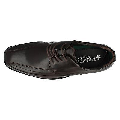 Malvern A2103 para Hombre Marrón Con Cordones Zapato