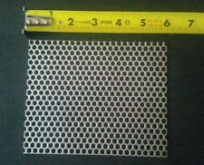 """20 GAUGE 1//8/"""" HOLES 304 STAINLESS STEEL PERFORATED SHEET  6/"""" X 6/"""""""