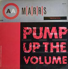 """MARRS - PUMP UP THE VOLUME 12"""" MAXI LP (R176)"""