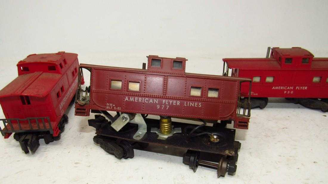 AMERICAN FLYER  S  Gauge rosso Vintage Train 930 24636 977 Cabooses