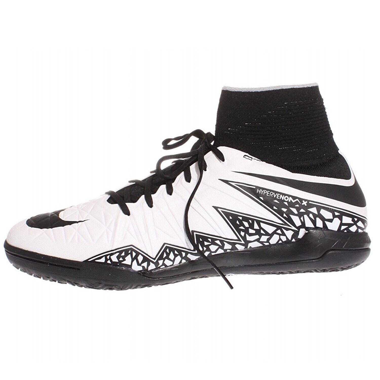 NIKE Men's White Blk Hypervenomx Proximo Proximo Proximo IC Sneakers 747486 Sz 7  150 NWOB 0efa74