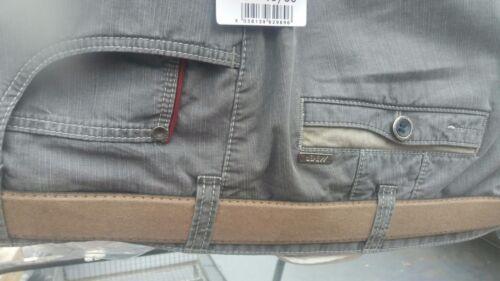 "Meyer Diego Grey//Green Cotton stretch trousers 42/""44/""46/""48/""50/""52/"""