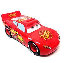 """DISNEY Pixar Cars enorme Saetta McQueen lungo 15"""" giocattolo con Suono & azioni"""