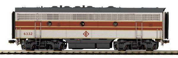 MTH trains 80-2125-0 Ho Erie Lackawanna F-7 B Unidad Dcc Listo