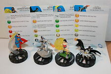 "Justice LEAGUE ""NEW 52"" Fast Forces Superman, Wonder Woman, BATMAN, Cyborg!"